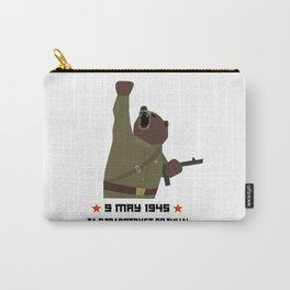Soviet bear red army infantry ww2 victory day Carry-All Pouch
