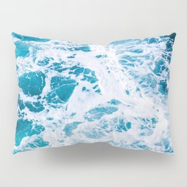 Perfect Ocean Sea Waves Pillow Sham