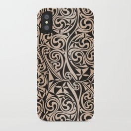 Celtic Warlord carbon iPhone Case