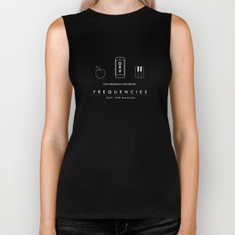 FREQUENCIES LOW FREQUENCY (ZAK - RED) CHARACTER POSTER Biker Tank