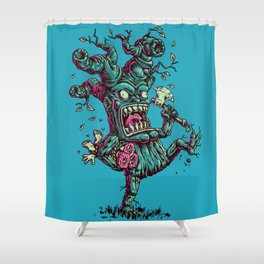 CrazyTree Shower Curtain