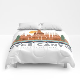 Bryce Canyon National Park Utah Graphic Comforters