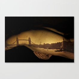 Wanderlust - Clasping onto London Canvas Print
