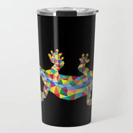 Vivid Barcelona City Lizard Travel Mug