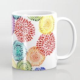 Dancing Dahlias Coffee Mug