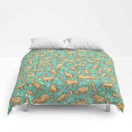 Pup Pattern Comforters