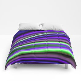 Abstract Fractal Colorways 01PL Comforters