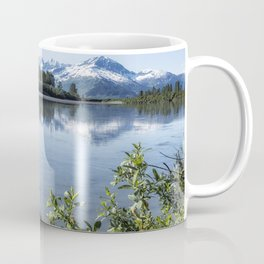 Placer River at the Bend in Turnagain Arm, No. 2 Coffee Mug