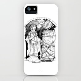 The Lady Weaves iPhone Case