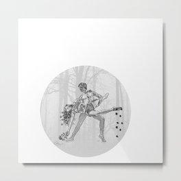 Time dance Metal Print