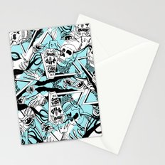 Crash & Burn Stationery Cards