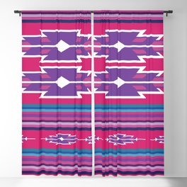 American Native Pattern No. 46 Blackout Curtain