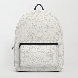 DC NYC London - Cream Backpack
