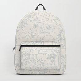 DC NYC London - Cream Backpack