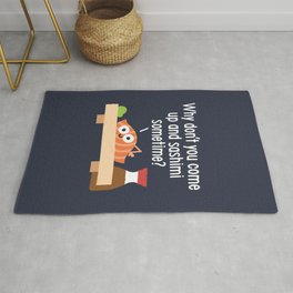 Fishing for Affection Rug