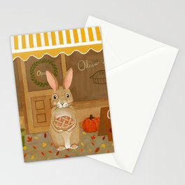 oliver's pies Stationery Cards