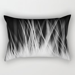 White Static Rectangular Pillow