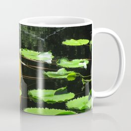 Water lilies with glass floaters Coffee Mug
