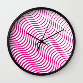 Whiskers Pink #835 Wall Clock