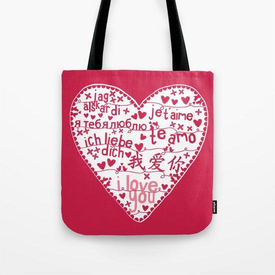 Te Amo Tote Bag