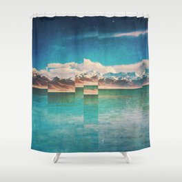 Fractions A22 Shower Curtain