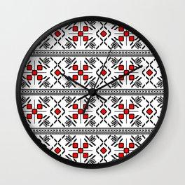 Romanian Folk Wall Clock