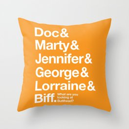 The Future - Gilmore Style Throw Pillow