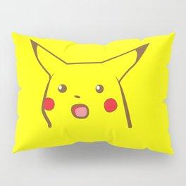 Surprised Pika Yellow Pillow Sham