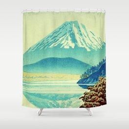 The Hues beyond Janaha Shower Curtain