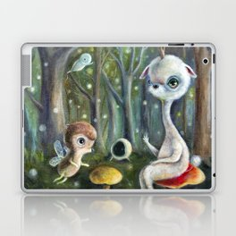 Uney & Friends in the Enchanted Forest Laptop & iPad Skin