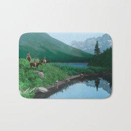 The Hunting Ground - Blackfoot American Indian Bath Mat
