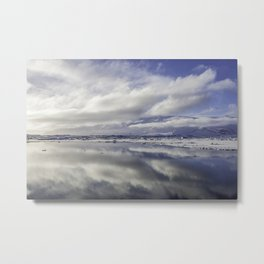 Jokulsarlon Lagoon Beach 13  Metal Print