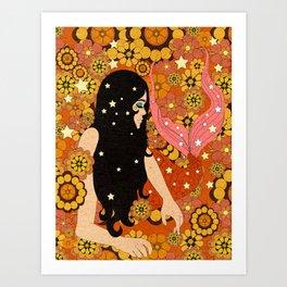 SHINY VIBES Art Print