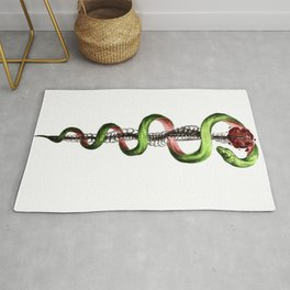 Rod of Asclepius Rug