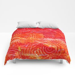 Firery Circling Comforters