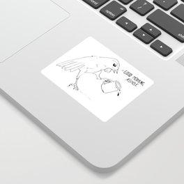 Good Morning Bird Sticker