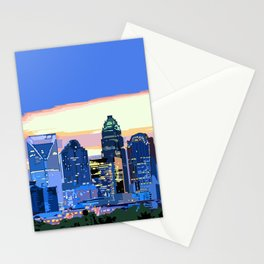 Charlotte - Pixel World Stationery Cards