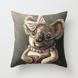 Grandmother Koala Bear Throw Pillow