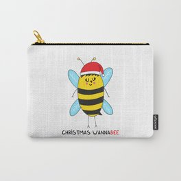 Christmas WannaBEE Carry-All Pouch