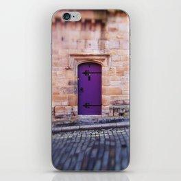 Purple Door iPhone Skin
