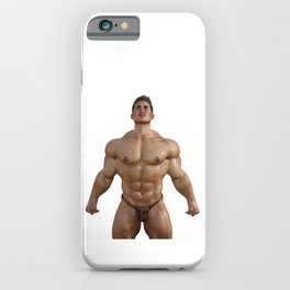 wet Hunk iPhone Case