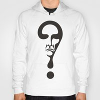 the who Hoodies featuring Who by Matiyas