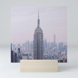 Empire State Building – New York City Mini Art Print