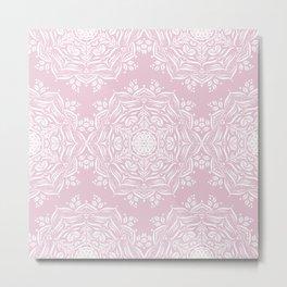 Lotus and Blush Metal Print