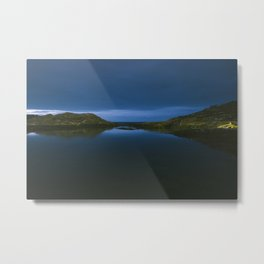 Lights out in Kristiansund Metal Print