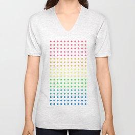 Sugar Dots (black) Unisex V-Neck