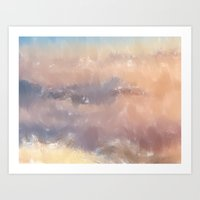 serenity Art Prints featuring Serenity by Daniac Design