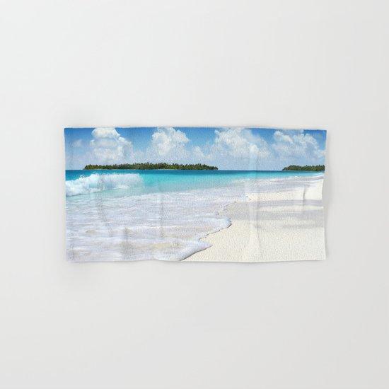 Paradise Ocean #waves Hand & Bath Towel