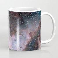 saturn Mugs featuring Saturn by Diana