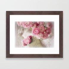 Ranunculus Love Framed Art Print